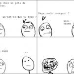 Rage comic.