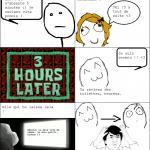 Les fameuses 5 minutes...