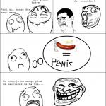 Je ne mange plus de saucisses!