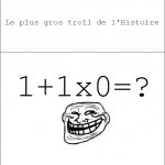 0 ou 1...
