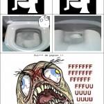 Le papier toilette