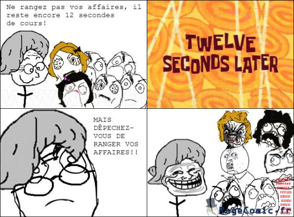 12 secondes