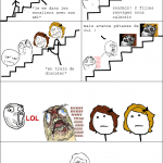 epic rage stairs