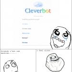 Cleverbot est sympa....eh attends un peu...