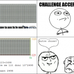 Challenge accepted from NicoFace