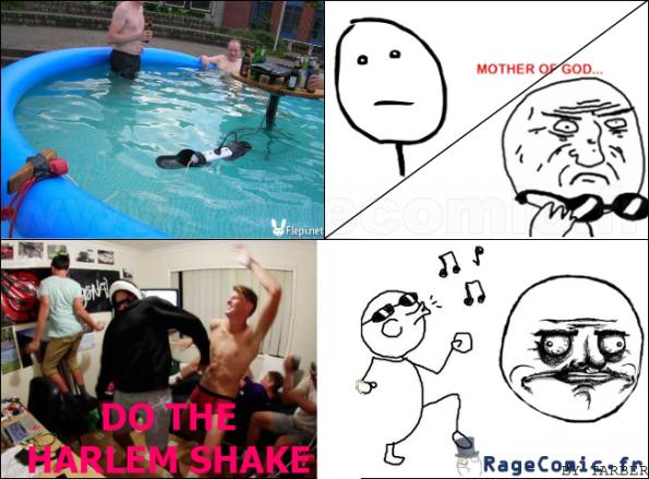 HARLEM SHAKE dans une piscine