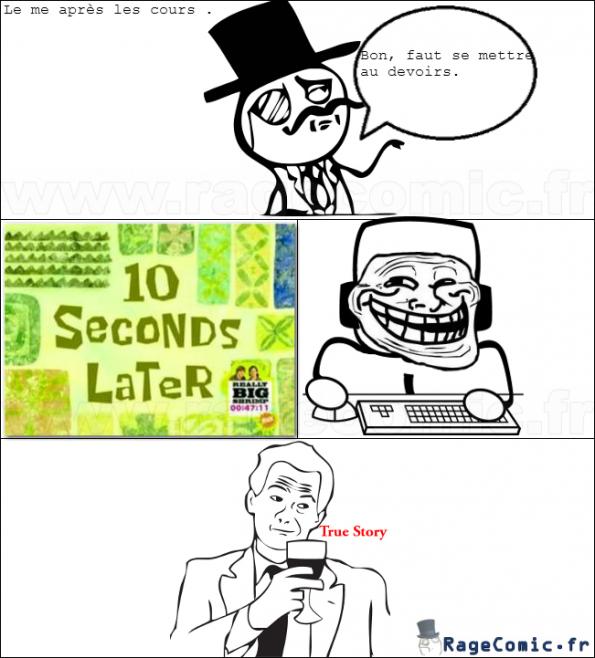True story après les cours