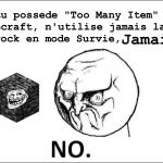 Minecraft et la Bedrock