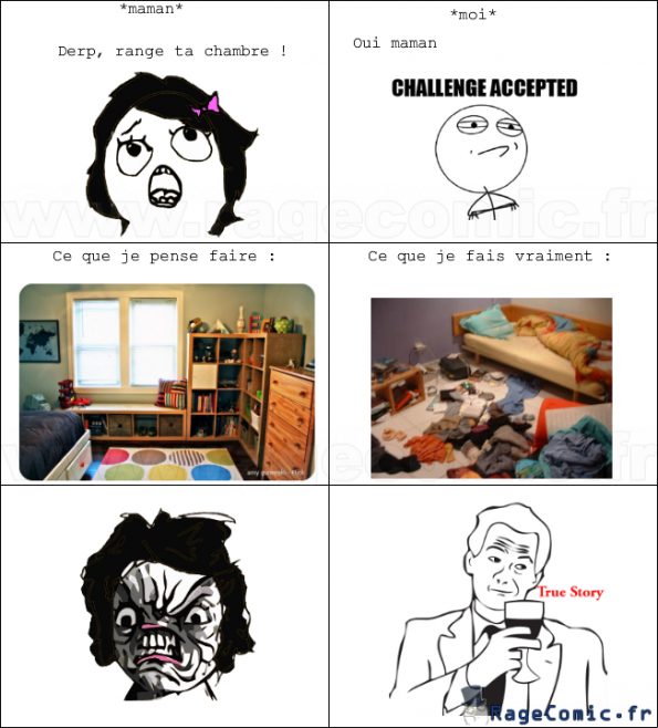 range ta chambre rage guy fffffuuuuuuuu rage comics francais troll face. Black Bedroom Furniture Sets. Home Design Ideas