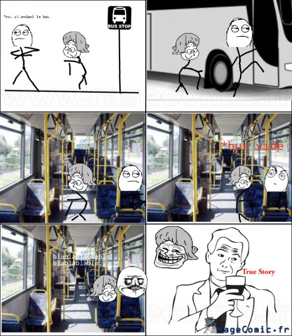 Le bus vide