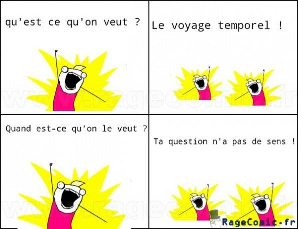 Voyage temporel