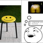 Tabouret smiley