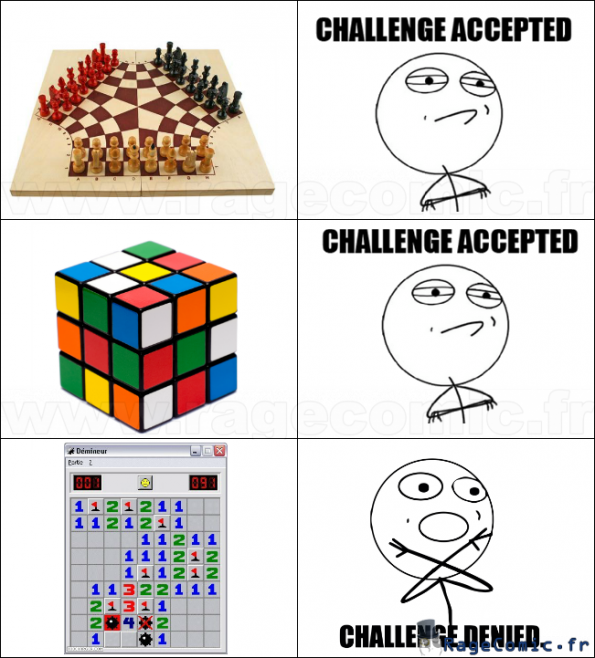 Challenge accepted ?