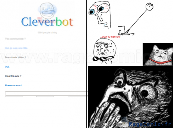 le point godwin : la vérité sur Cleverbot