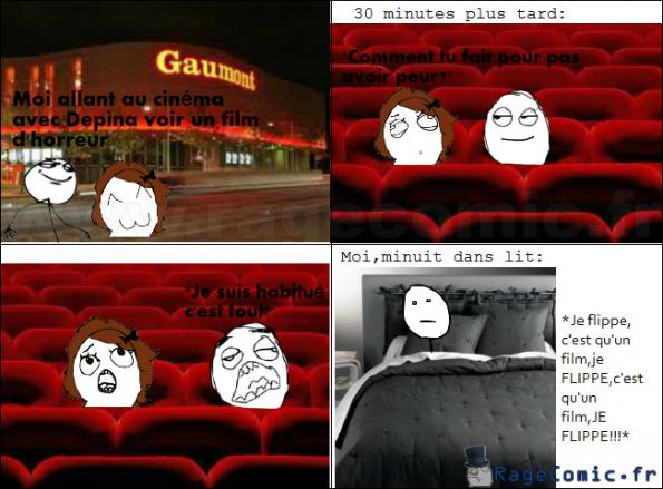 Minuit,après un film d'horreur