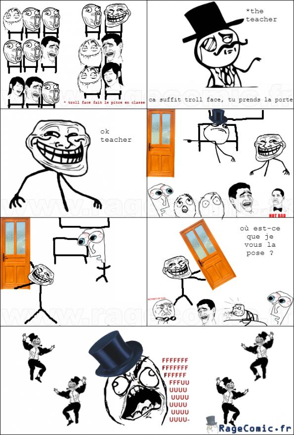 Prendre la porte
