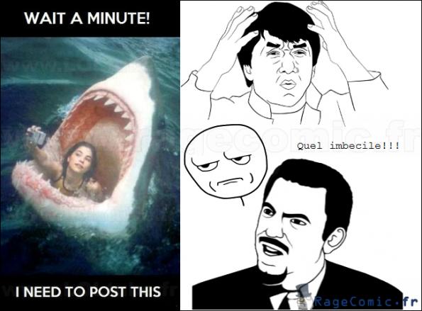Quelle imbecile!!!