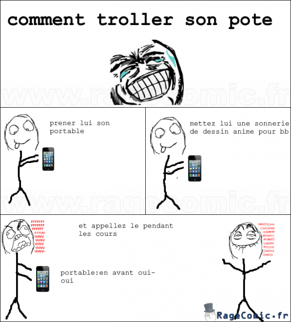 comment troller son pote