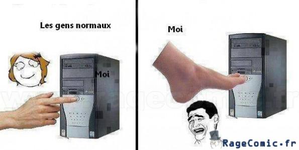 L'ordinateur...