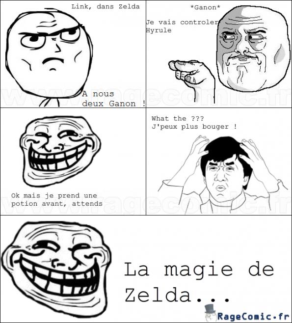 Link et ses potions magiques...