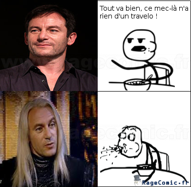 Lucius vs Cereal guy