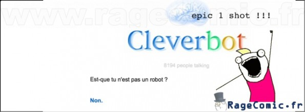 CleverBot 1 shot
