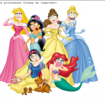 Les princesses de Disney en rage comics