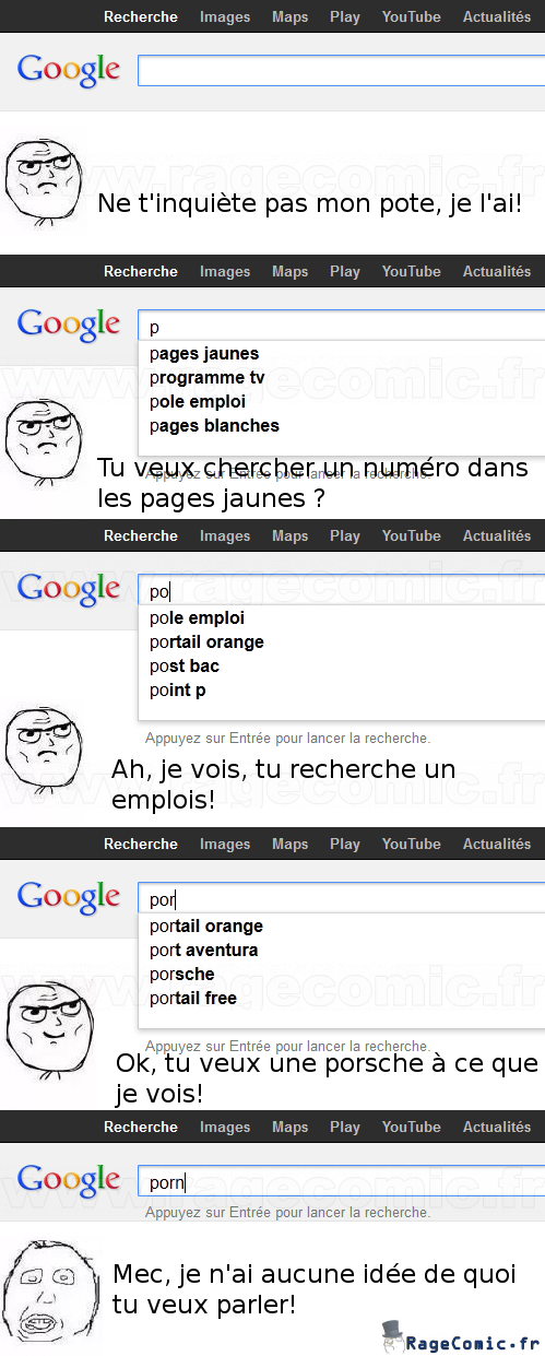 Google est innocent!