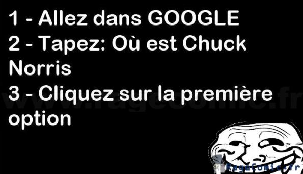 Chuck norris..