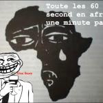 Toute les 60 secondes en afrique