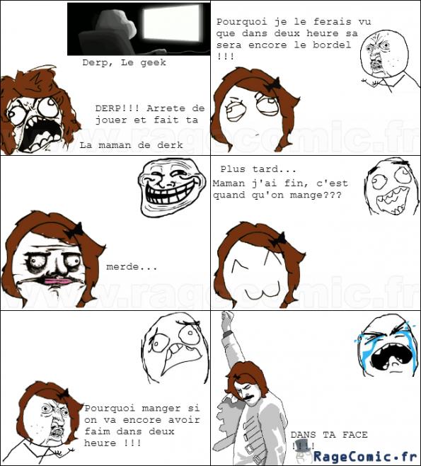 Maman se venge !!!