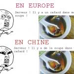 Un cafard dans ma soupe