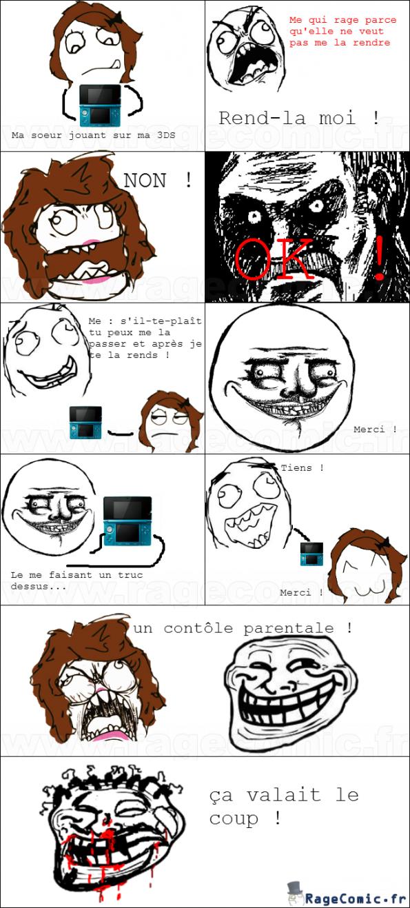 3DS rage