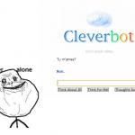 Même Cleverbot...
