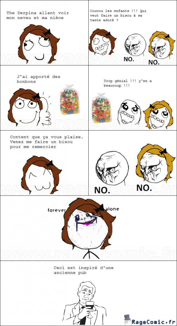 Bonbons vs accueil