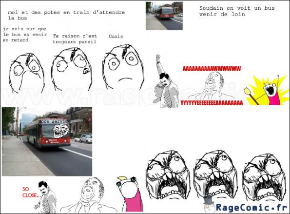 Derniere fois que je prends ce bus