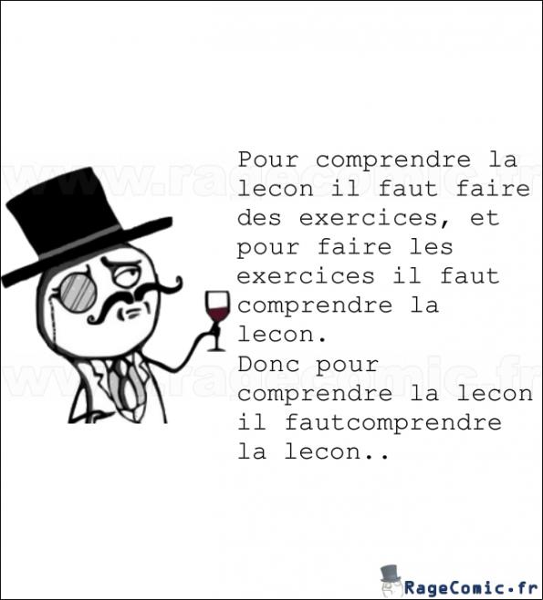 Logique des profs