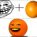 Troll orange