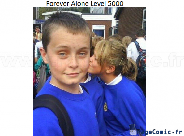 Forever Alone Lvl 5000