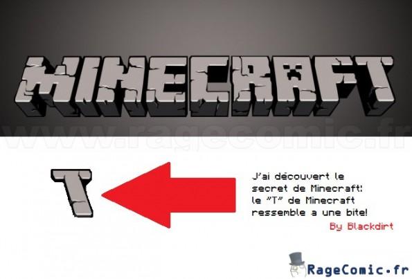 Le secret de Minecraft