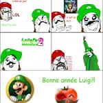Luigi: 1, Mario: 0!