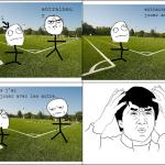 Le débile du foot