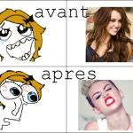 Evolution de Miley Cyrus