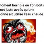 Ce moment horrible.