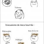 Discussions de mecs normaux et bourrés