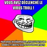 Virus troll