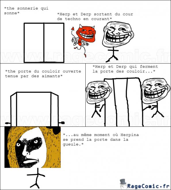 La Porte: une bonne arme pour un bon Troll