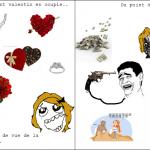 Valentin et valentine..