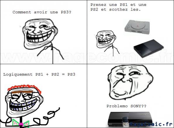 PS1 + PS2 = PS3