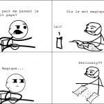 Le mot magique